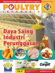 POULTRY Indonesia Magazine Cover November 2019