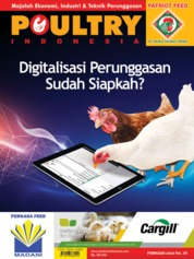 POULTRY Indonesia Magazine Cover February 2020