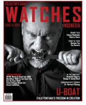 Cover Majalah Collector's Guide WATCHES ED 14 2020