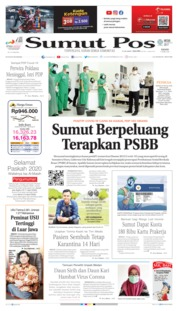 Cover SUMUT POS 09 April 2020