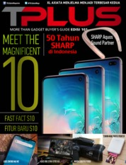 TPLUS Magazine Cover ED 101 March 2019