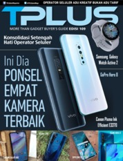 Cover Majalah TPLUS ED 109 November 2019