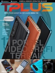 TPLUS Magazine Cover ED 113 March 2020