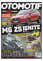 OTOMOTIF Magazine Cover ED 04 June 2020