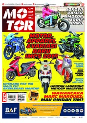 Cover Majalah MOTOR PLUS ED 1027 November 2018