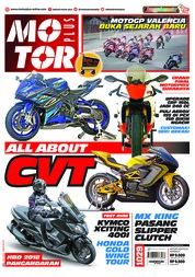 Cover Majalah MOTOR PLUS ED 1029 November 2018