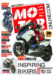 Cover Majalah MOTOR PLUS ED 1034 Januari 2019