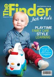 The Finder Just 4 Kidz / JUL2015 Magazine Cover July 2015