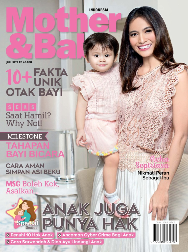 Majalah Digital Mother & Baby Indonesia Juli 2019