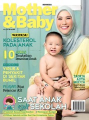 Cover Majalah Mother & Baby Indonesia Mei 2019