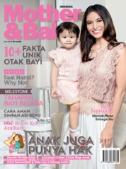 Cover Majalah Mother & Baby Indonesia Juli 2019