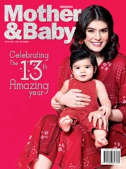 Cover Majalah Mother & Baby Indonesia September 2019