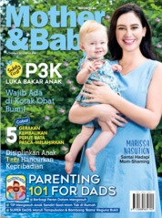 Cover Majalah Mother & Baby Indonesia November 2019