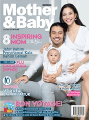 Cover Majalah Mother & Baby Indonesia Desember 2019