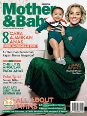 Cover Majalah Mother & Baby Indonesia Januari-Februari 2020