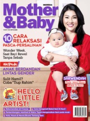 Cover Majalah Mother & Baby Indonesia Maret 2020