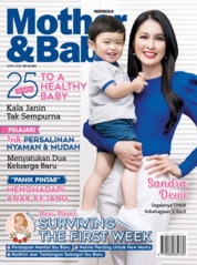 Cover Majalah Mother & Baby Indonesia April 2020