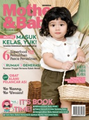 Cover Majalah Mother & Baby Indonesia / MAY-JUL 2020 Juli 202L