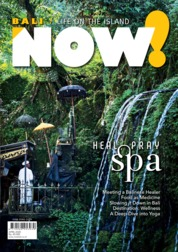 NOW! Bali Magazine Cover April 2020