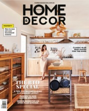 Cover Majalah HOME & DECOR Singapore Maret 2020