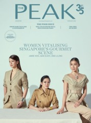 Cover Majalah THE PEAK Singapore Februari 2020