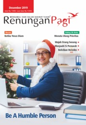 Renungan Pagi Magazine Cover December 2019