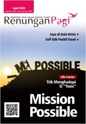 Renungan Pagi Magazine Cover April 2020