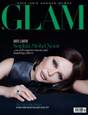 Cover Majalah GLAM Januari 2020