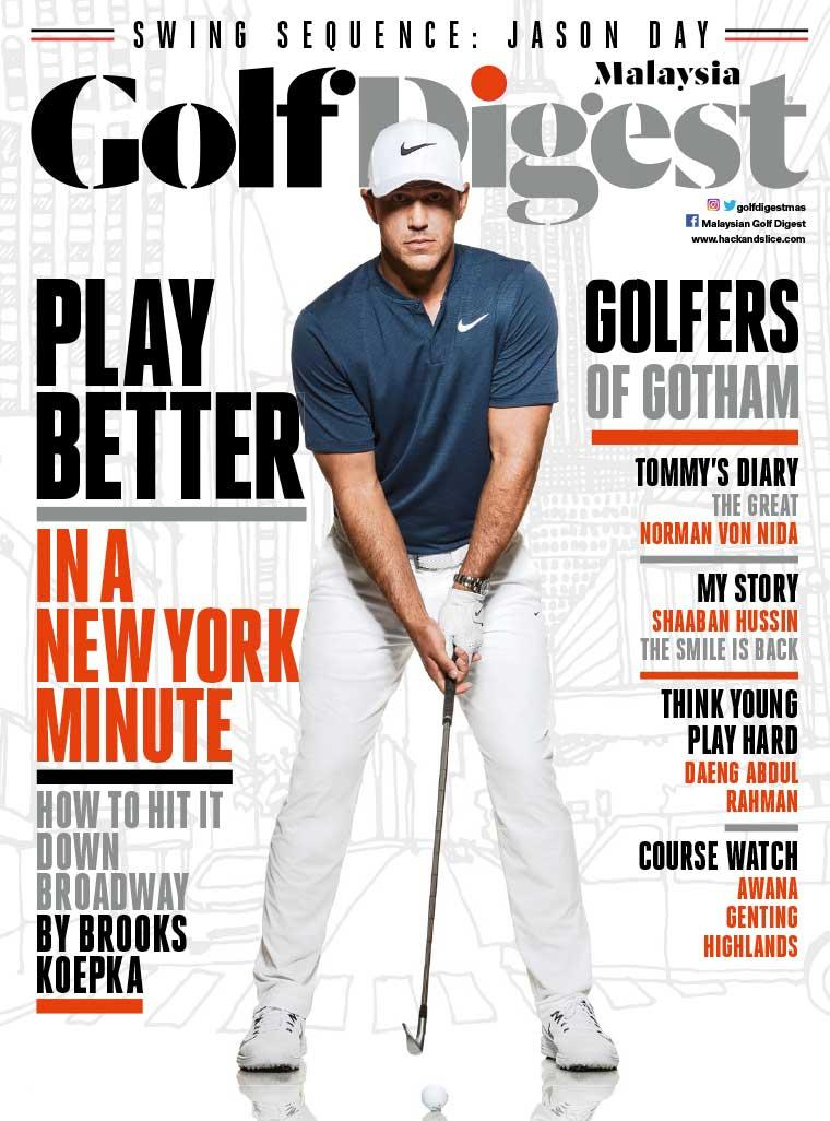 Golf Digest Malaysia Digital Magazine September 2017