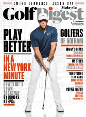 Golf Digest Malaysia Magazine Cover September 2017