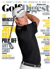 Golf Digest Malaysia Magazine Cover October 2017