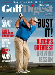 Golf Digest Malaysia Magazine Cover November 2017