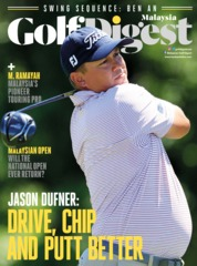 Golf Digest Malaysia Magazine Cover January 2018