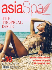 Asia spa Magazine Cover July-August 2018