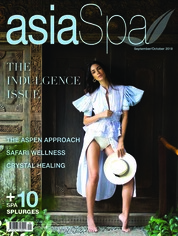 Asia spa Magazine Cover September-October 2018