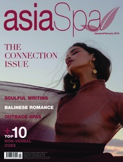 Asia spa Magazine Cover January-February 2019
