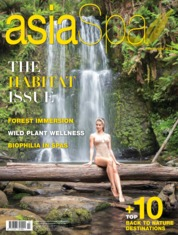 Asia spa Magazine Cover July-August 2019