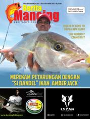 Berita Mancing Magazine Cover ED 83 March 2017