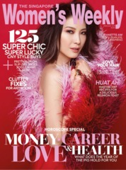 Cover Majalah Women's Weekly Singapore Februari 2019