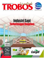 TROBOS Livestock Magazine Cover October 2019