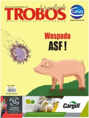TROBOS Livestock Magazine Cover December 2019