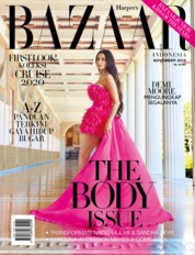 Cover Majalah Harper's BAZAAR Indonesia November 2019