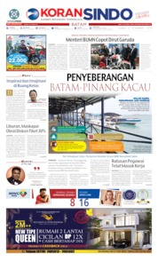 KORAN SINDO BATAM Cover 06 December 2019