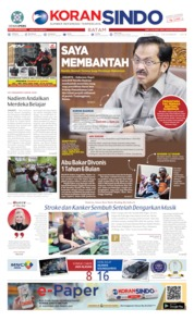 KORAN SINDO BATAM Cover 12 December 2019