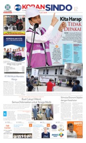 Cover KORAN SINDO BATAM 02 April 2020