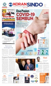 Cover KORAN SINDO BATAM 03 April 2020