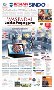 Cover KORAN SINDO BATAM 15 April 2020