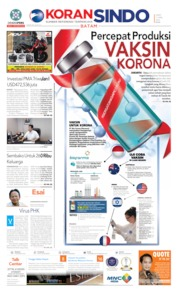 Cover KORAN SINDO BATAM 17 April 2020