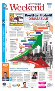 Cover KORAN SINDO BATAM 18 April 2020