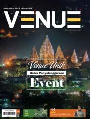 Cover Majalah VENUE ED 145 November 2019